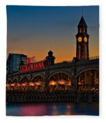 Erie Lackawanna Fleece Blanket