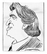 Ermanno Wolf-ferrari (1876-1948) Fleece Blanket