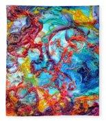 Ernstian Explosion Fleece Blanket