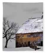 Eroding Panorama Fleece Blanket