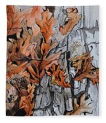 Eruption I Fleece Blanket