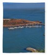 Escobedo Bay Fleece Blanket