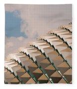 Esplanade Theatres Roof 01 Fleece Blanket