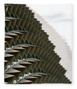 Esplanade Theatres Roof 10 Fleece Blanket