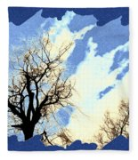 Essence Of Winter Fleece Blanket