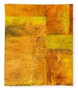Essence Of Yellow Fleece Blanket