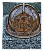 Essex County N J 9-11 Memorial 3  Fleece Blanket