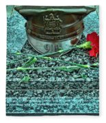 Essex County N J 9-11 Memorial 6  Fleece Blanket