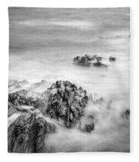 Estacas Beach Galicia Spain Fleece Blanket