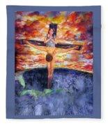 Eternal Anguish Fleece Blanket