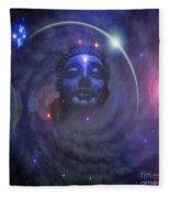 Eternal Buddha Fleece Blanket