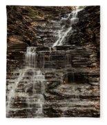 Eternal Flame Waterfalls Fleece Blanket