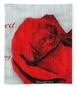 Eternal Valentine Fleece Blanket