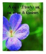 Eternity's Seed Fleece Blanket