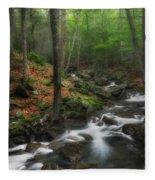 Ethereal Forest Fleece Blanket