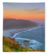 Ethereal Sunset Fleece Blanket