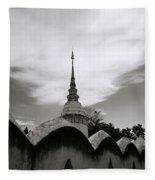Ethereal Wat Suan Dok Fleece Blanket