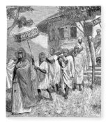 Ethiopia Abuna, 1884 Fleece Blanket