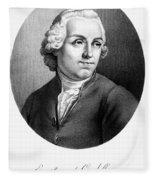 Etienne Bonnot De Condillac(1715-1780) Fleece Blanket