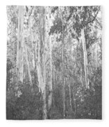 Eucalyptus Forest Fleece Blanket