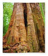Eucalyptus Tree Tasmania Fleece Blanket
