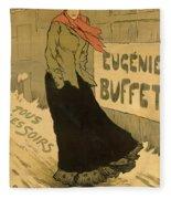 Eugenie Buffet Poster Fleece Blanket