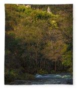 Eume River Galicia Spain Fleece Blanket