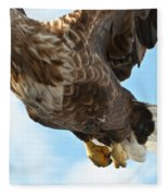 European Flying Sea Eagle 2 Fleece Blanket