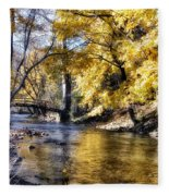 Even In The Quietest Moments Fleece Blanket