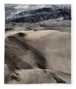 Evening At The Dunes Fleece Blanket