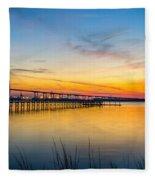 Evening Color Fleece Blanket