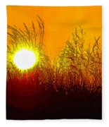 Evening Dunes Fleece Blanket