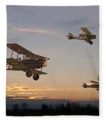 Evening Flight Fleece Blanket