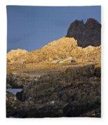 Evening Glow Fleece Blanket