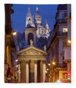Evening In Paris Fleece Blanket
