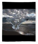 Evening Landing Fleece Blanket