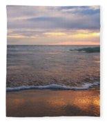 Evening Solace Fleece Blanket