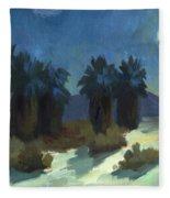 Evening Solitude Fleece Blanket