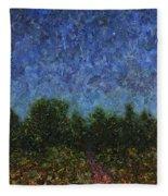 Evening Star Fleece Blanket