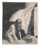 Evening Wind Fleece Blanket