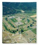 Ever-expanding Driggs, Idaho. Teton Fleece Blanket