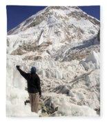 Everest Base Camp Fleece Blanket