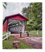 Everett  Bridge Fleece Blanket
