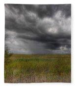 Everglades Storm Fleece Blanket
