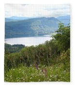 Evergreen Overlook Fleece Blanket