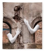 Every Hand Goes Searching For Its Partner 02 Fleece Blanket