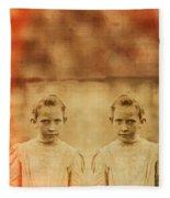 Evil Twins Fleece Blanket