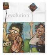 Evolution The Poster Fleece Blanket
