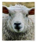 Ewe's Just Fluffy Fleece Blanket