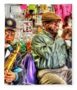 Excelsior Band Horn Players Fleece Blanket